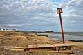 Groynes and post on Worthing beach - PhotoDune Item for Sale