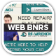 Car Service Web Banners - GraphicRiver Item for Sale