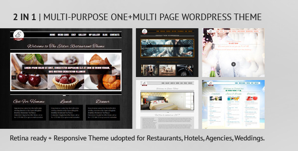 ThemeForest Eldar Responsive and Retina Multi-Purpose Theme 5394648
