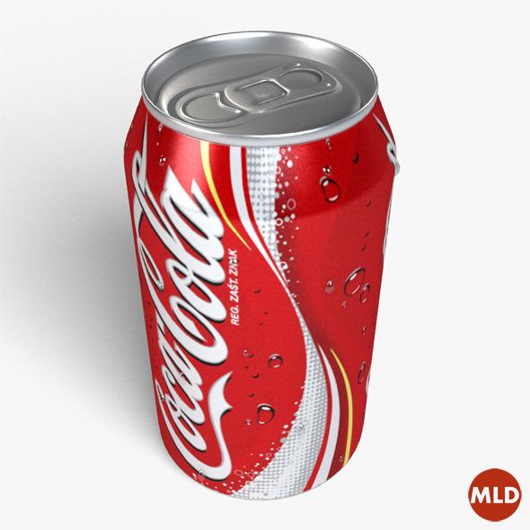 3DOcean Coca Cola 5444281