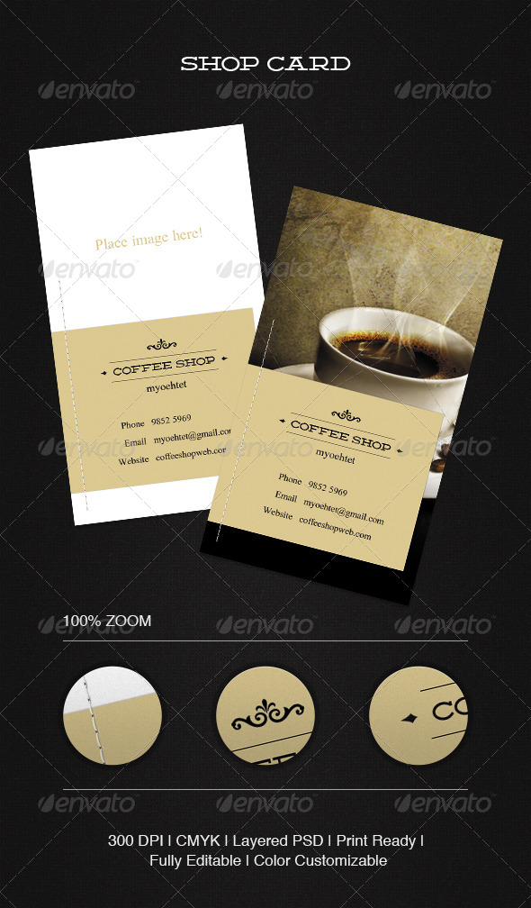 GraphicRiver Shop Card 5424486