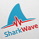 Shark Wave Logo - GraphicRiver Item for Sale