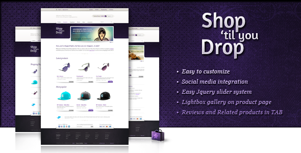 Shop 'til you Drop Magento