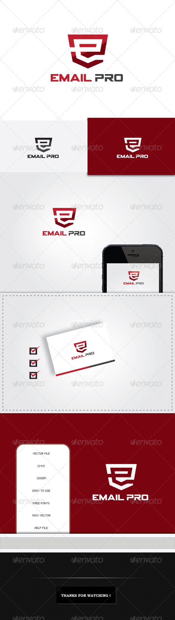 GraphicRiver Email Pro Logo Template 5446537