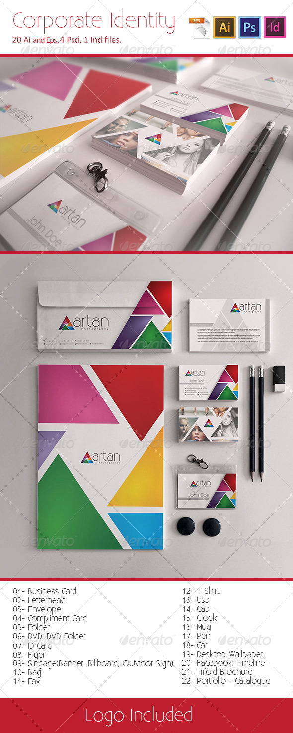 GraphicRiver Corporate Identity 5438790