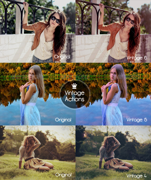 GraphicRiver Vintage Actions 5447736