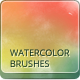 23 Handmade Watercolor Brushes - GraphicRiver Item for Sale