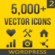 5,000+ Vector Icons SET 2 - WordPress - CodeCanyon Item for Sale