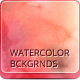 14 Watercolor Handmade Artistic Backgrounds