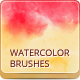 12 Watercolor Handmade Brushes