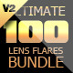 Ultimate Lens Flares Bundle V2 - GraphicRiver Item for Sale