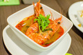 Hot and Spicy shrimp soup , also know as Tom yum koong - PhotoDune Item for Sale