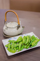Japanese teapot soup with lemon and soya beans - PhotoDune Item for Sale