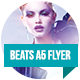 Beats A5 Flyer Template - GraphicRiver Item for Sale