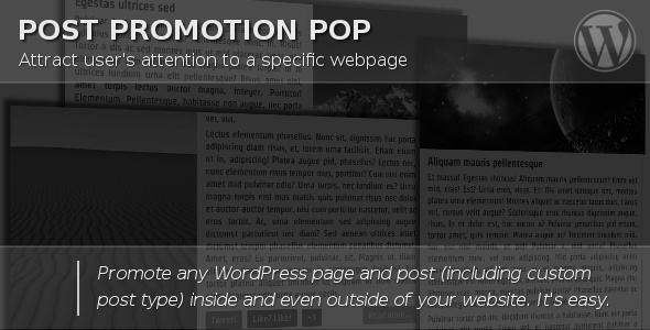 CodeCanyon Post Promotion Pop 5451504