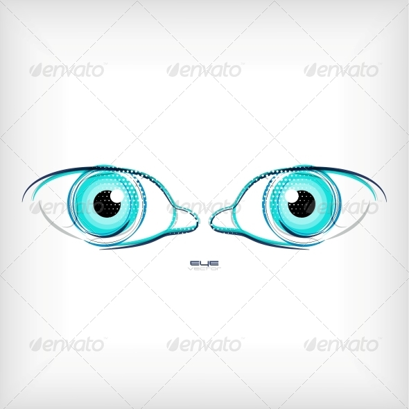GraphicRiver Vector Eye Concept 5451867