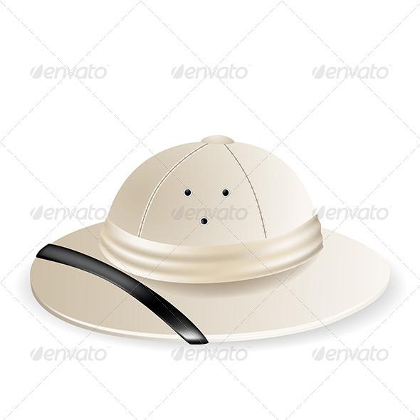 GraphicRiver Pith Helmet 5452745