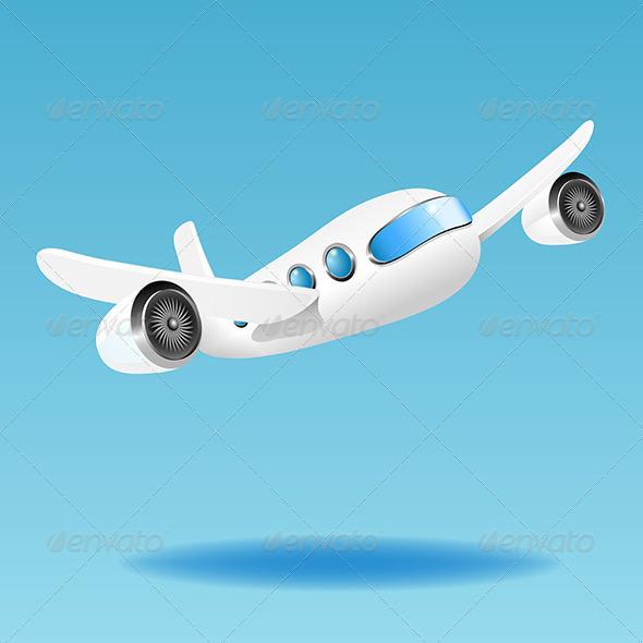 GraphicRiver Airplane 5452779