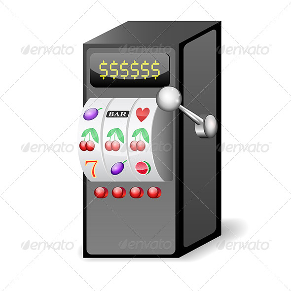 GraphicRiver Slot Machine Icon 5452785