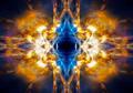 Yellow abstract light burst - PhotoDune Item for Sale