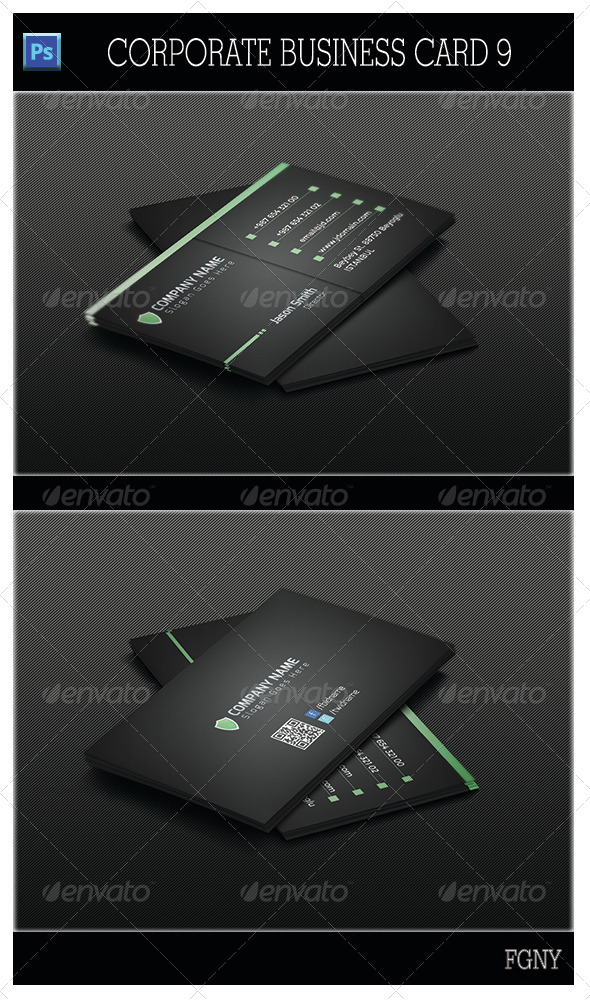 GraphicRiver Corporate Business Card 9 5445510