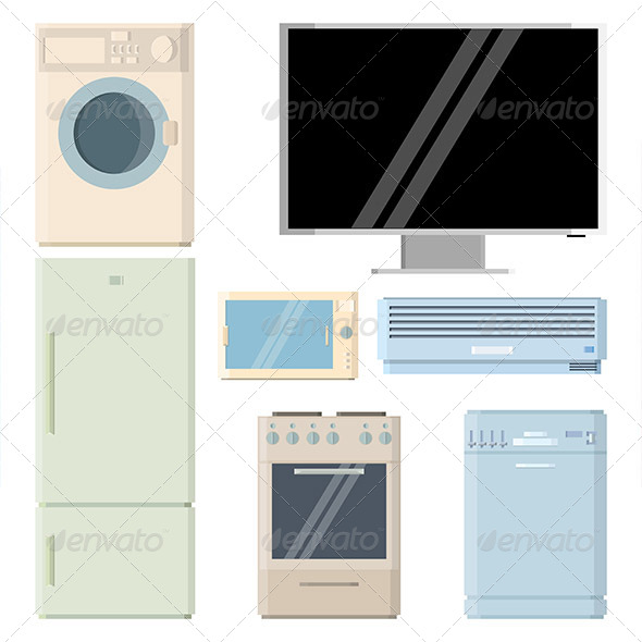 GraphicRiver Home Appliances 5455931