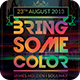 Bring Some Color Flyer - GraphicRiver Item for Sale