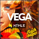 Vega HTML5 Responsive Template - ThemeForest Item for Sale