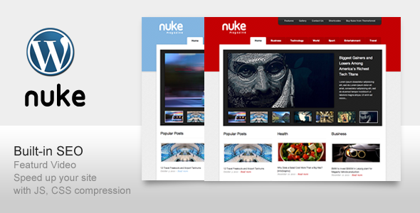 Nuke SEO support For Magazine Blog News - News / Editorial Blog / Magazine