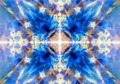 Light blue kaleidoscope background - PhotoDune Item for Sale