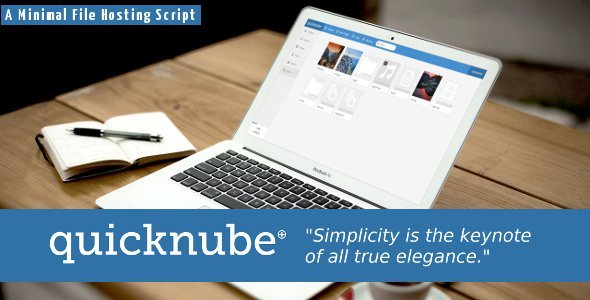 CodeCanyon Quicknube Minimal Design File Hosting Script 5362499