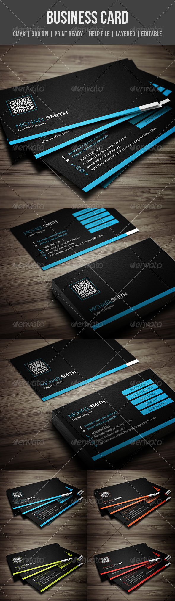 GraphicRiver Creative Business Card 5459454