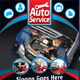 Auto Service Flyer - GraphicRiver Item for Sale