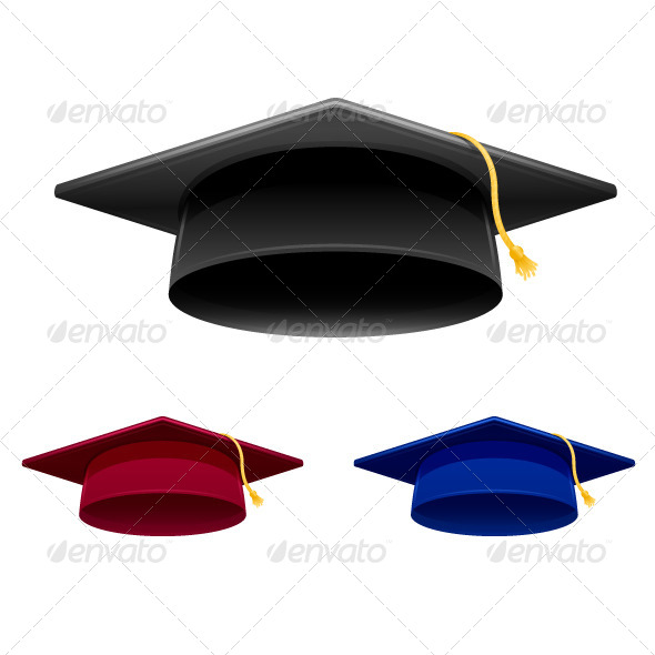GraphicRiver Graduation Cap 5459481