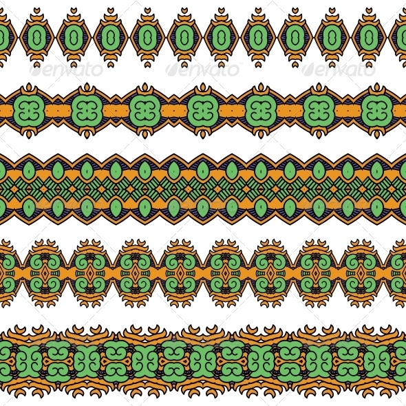 GraphicRiver Ornamental Seamless Pattern 5460659