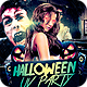 Halloween UV Party Flyer Template - GraphicRiver Item for Sale