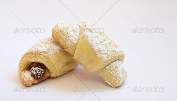 two delicious sweets  - Stock Photo - Images