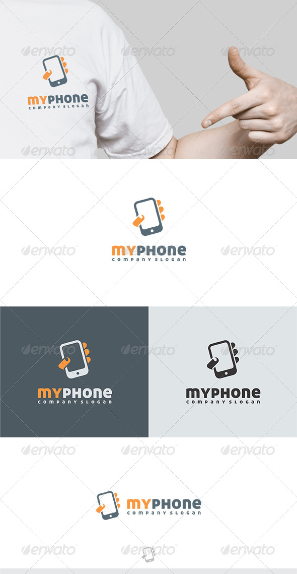 GraphicRiver My Phone Logo 2 5464411