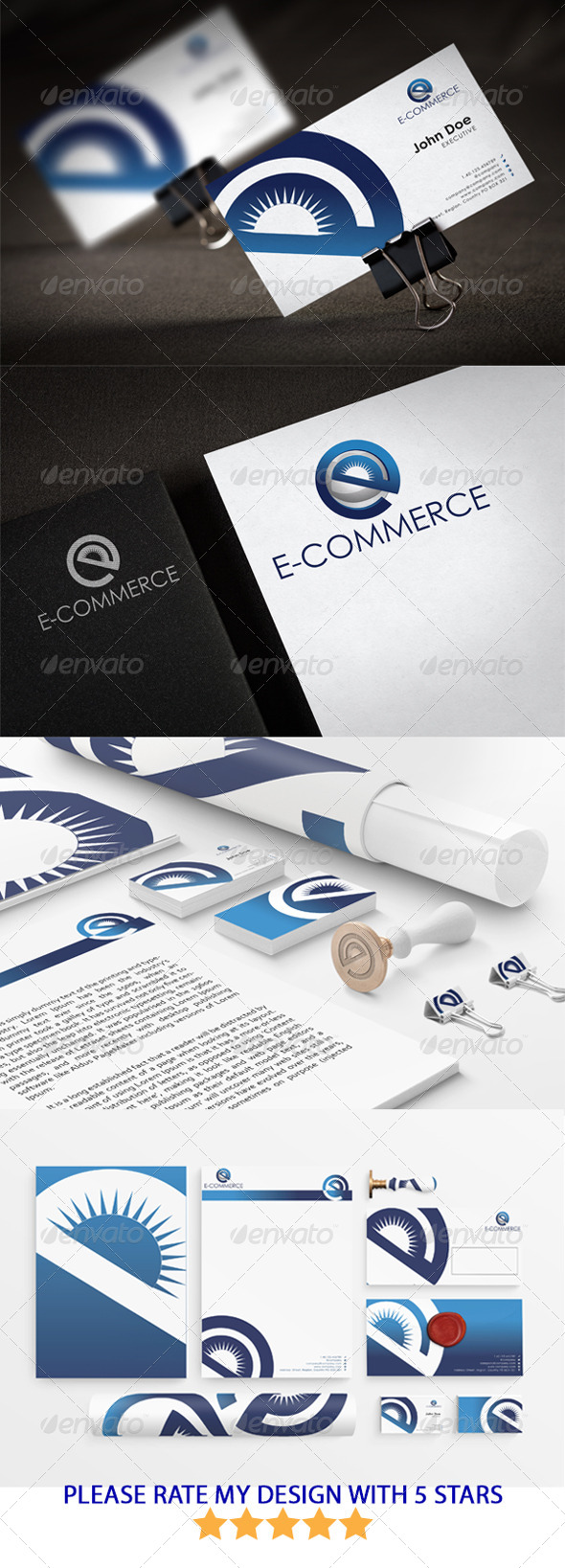 GraphicRiver eCommerce Stationary New Templates Design 5433341