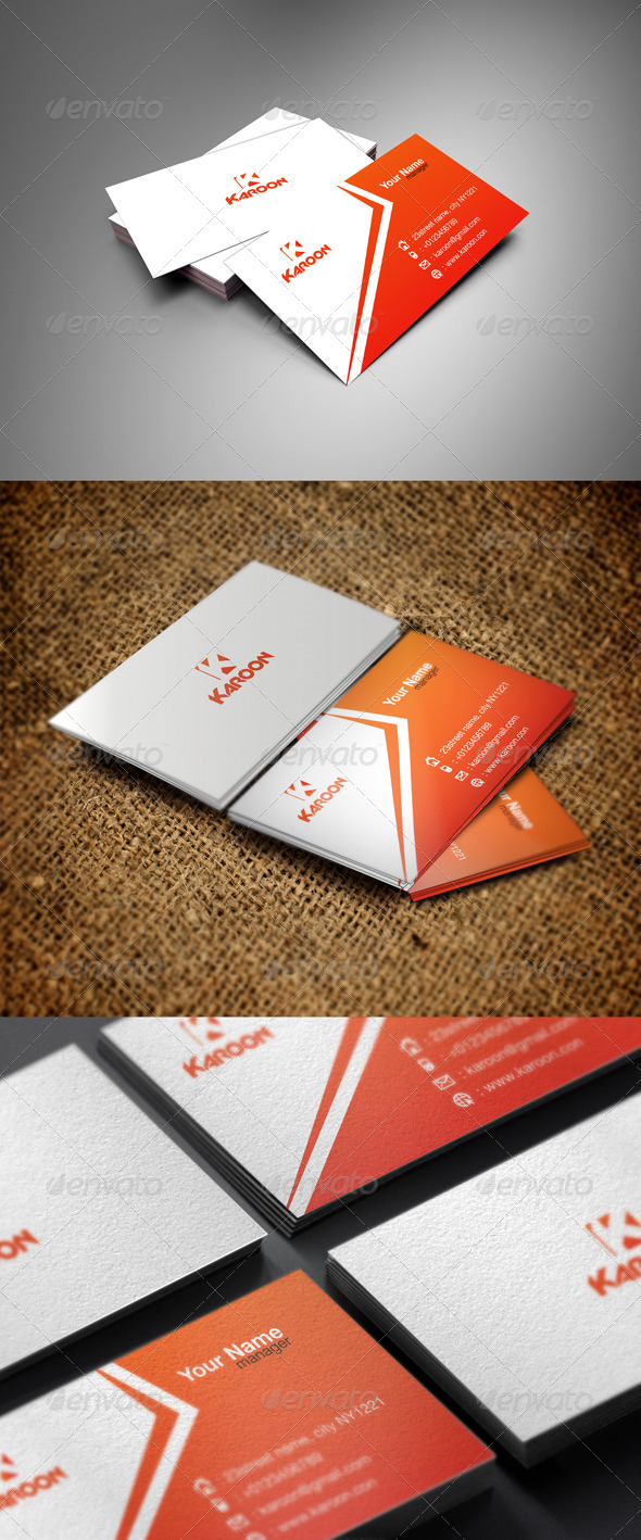 GraphicRiver Karoon Business 5464752