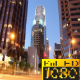 Buildings Downtown Los Angeles Sunset Time Lapse - VideoHive Item for Sale