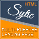 Sytic - One-Page Responsive Multipurpose Template - ThemeForest Item for Sale