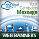 Cloud Computing Platform Web Banners - GraphicRiver Item for Sale
