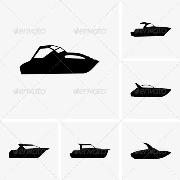 GraphicRiver Cutter Boats 5466953