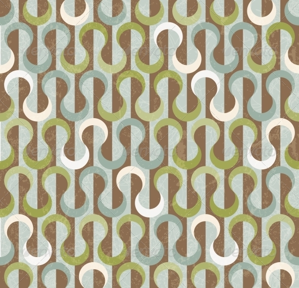 GraphicRiver Retro Abstract Seamless Pattern 5467545