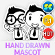 Hand Drawn Male Office & Business Mascot Part 1 - GraphicRiver Item for Sale