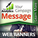 Analytics Company Campaign Web Banners 2 - GraphicRiver Item for Sale