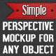 Perspective Mock-up For iDevices - GraphicRiver Item for Sale