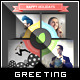 Info Chart Gift - Holiday Greeting Card - GraphicRiver Item for Sale
