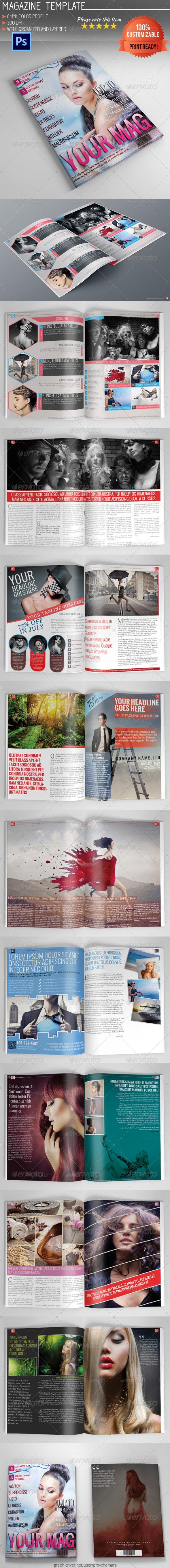 GraphicRiver Magazine Template Vol.7 5468394
